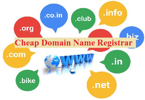 Cheap Domain Name Registrar in India