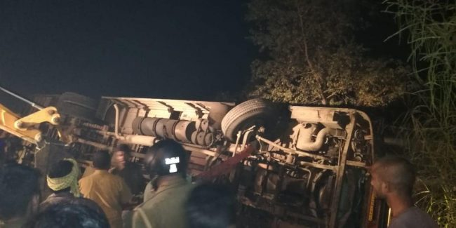 Toll Plaza Accident Kushinagar